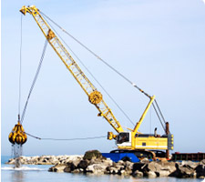 Marine Construction & Dredging - Onshore Diving Services